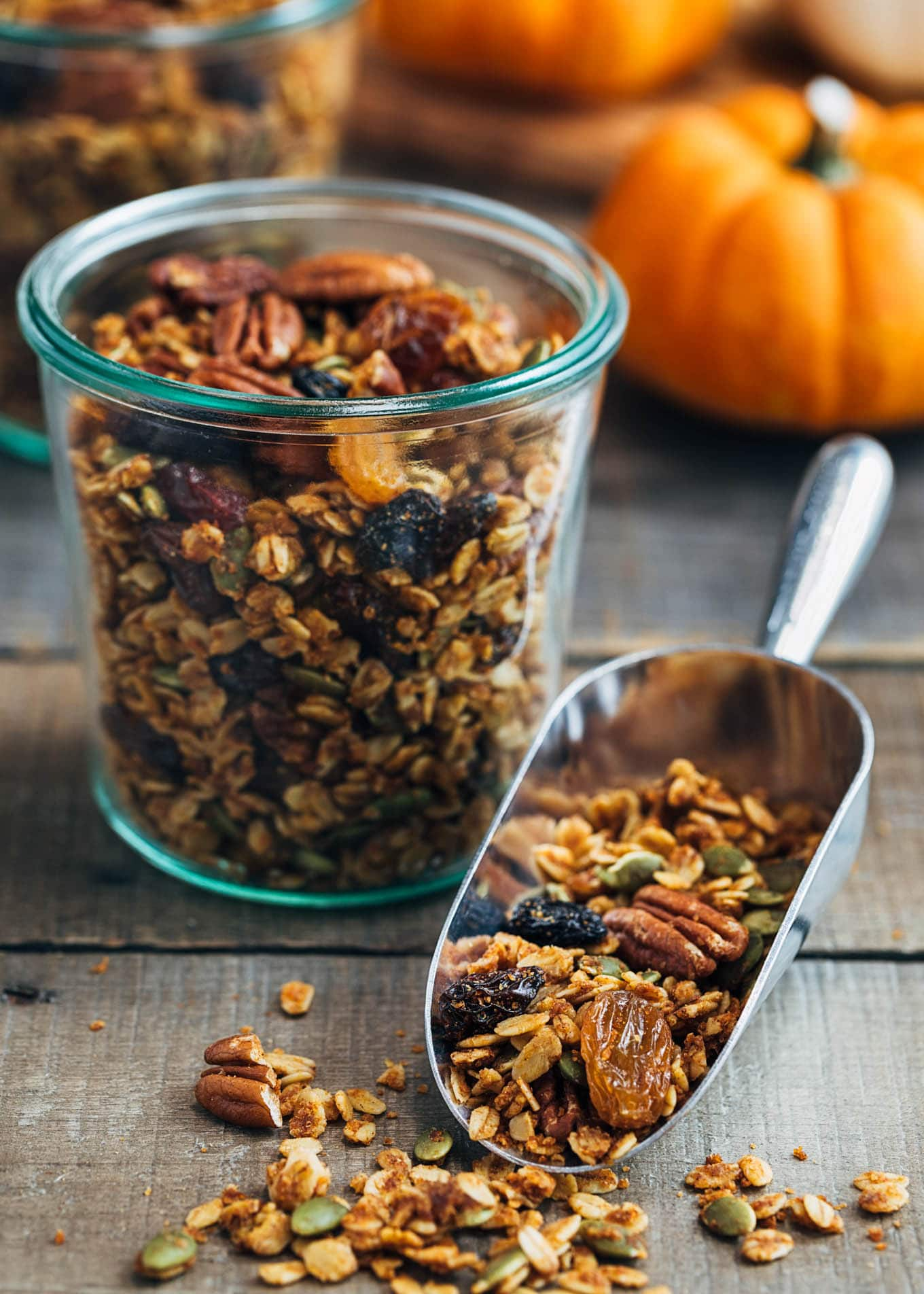 Pumpkin Granola with Maple and Pecans